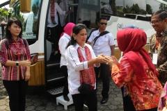 Kunjungan Ibu Iriana Jokowi